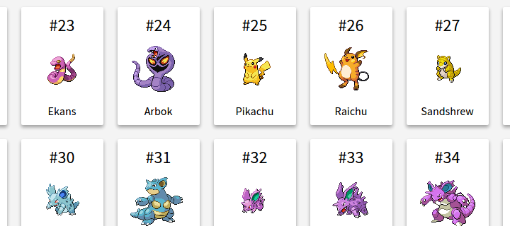Angular 2 Pokedex App