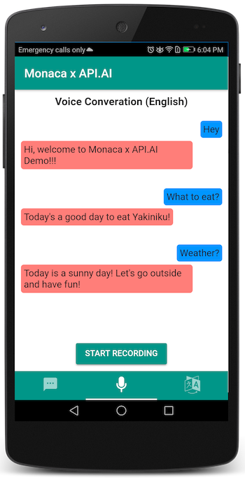 Voice Conversation (English)